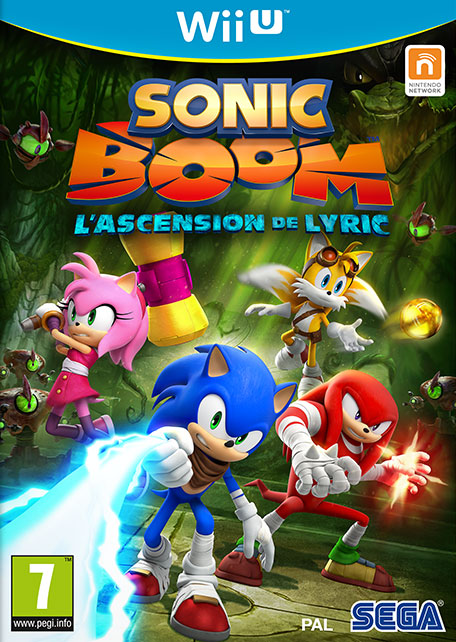 Sonic Boom : L'Ascension de Lyric sur WiiU