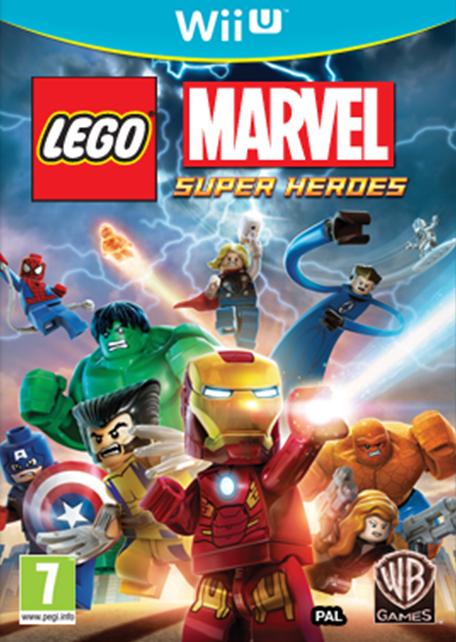 LEGO Marvel Super Heroes sur WiiU