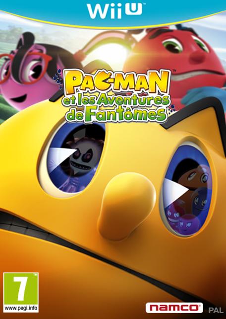 Pac-Man et les Aventures de Fantômes sur WiiU