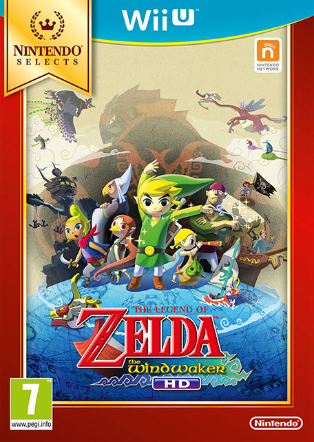 The Legend of Zelda : The Wind Waker HD sur WiiU