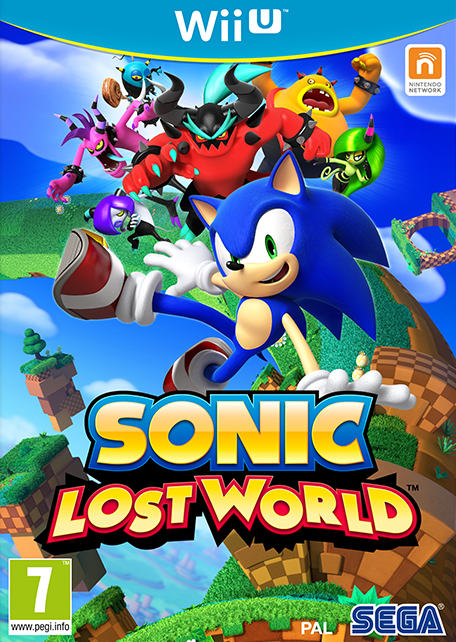 Sonic Lost World sur WiiU