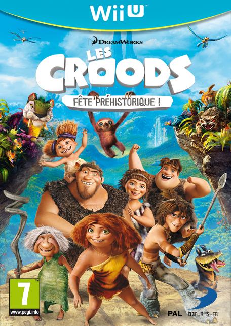 Les Croods : Fête Préhistorique sur WiiU