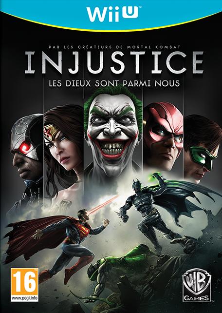 Injustice : Les Dieux sont Parmi Nous sur WiiU