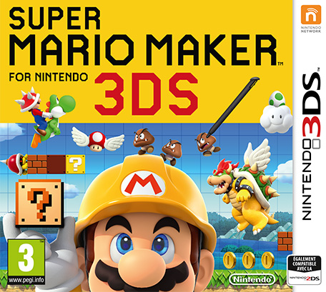 Super Mario Maker sur 3DS