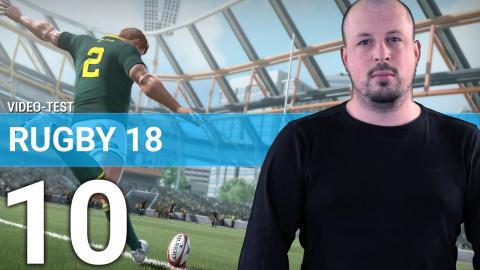 Rugby 18 : 3 minutes de plaquages musclés (màj 1.1)