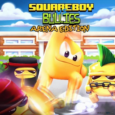 Squareboy vs Bullies : Arena Edition sur Vita