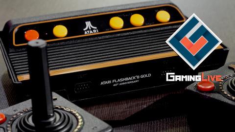 Atari Flashback 8 Gold : Pong, c'est plus vraiment ça en fait...