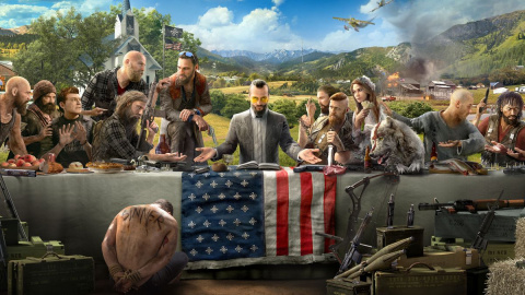 Jaquette de Far Cry 5 : Ubisoft dévoile une édition limitée en collaboration avec Mondo