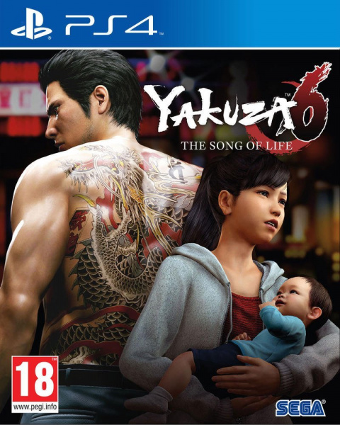 Yakuza 6 : The Song of Life sur PS4