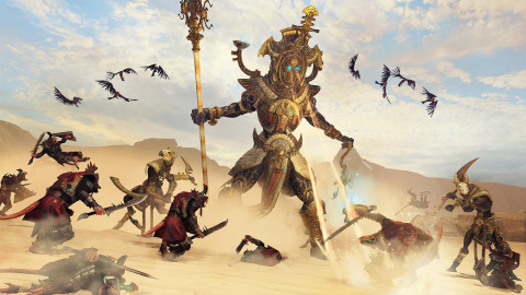 Jaquette de Total War Warhammer 2 :  Rise of The Tomb King dévoile 11 minutes de gameplay