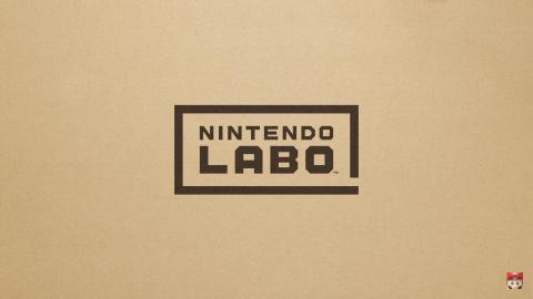 Jaquette de Nintendo dévoile le Nintendo Labo