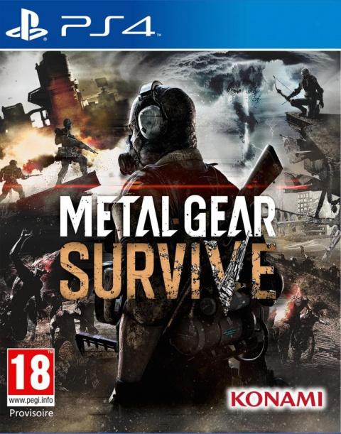 Metal Gear Survive sur PS4