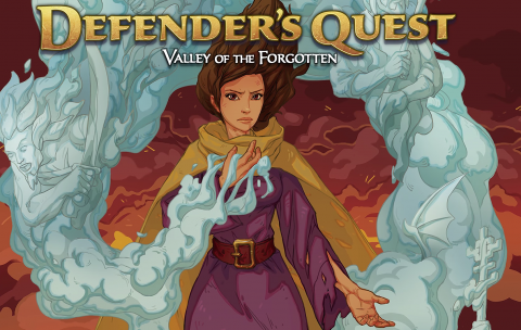 Jaquette de Defender's Quest : Valley of the Forgotten DX est annoncé sur PS4 et PS Vita