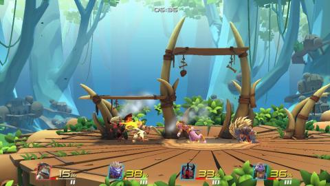 Coup d'oeil dans le rétro : Brawlout, une alternative viable en attendant Smash Bros ?