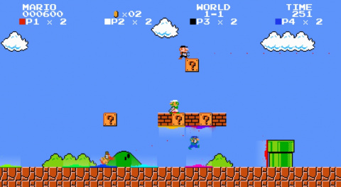 Si Portal se passait dans Mario Bros...