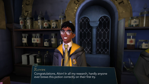 Hogwarts Mystery (iOS, Android) — Harry Potter