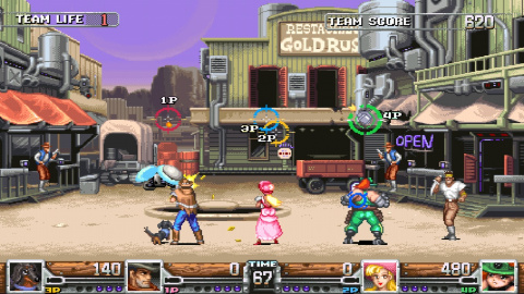 Wild Guns Reloaded prend le chemin de la Switch