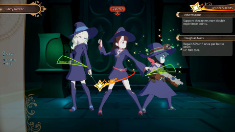 Little Witch Academia : Chamber of Time - Quelques images de la version occidentale