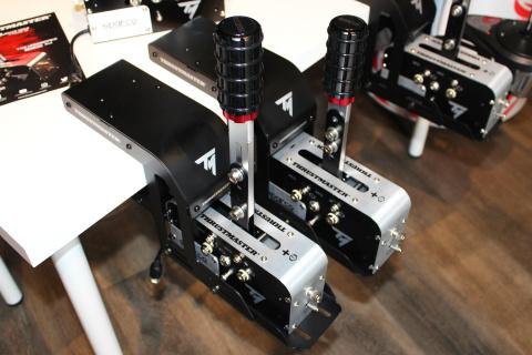 Apercu Thrustmaster TSS Handbrake Sparco Mod : Frein à main et Shifter pour les pros
