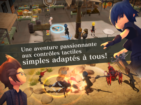 Final Fantasy XV Pocket Edition, le jeu arrive sur iOS et Android