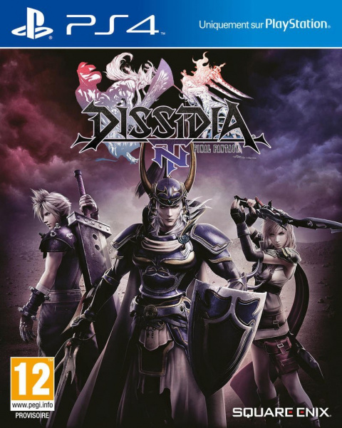 Dissidia : Final Fantasy NT sur PS4