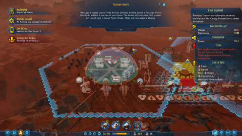Surviving Mars : un jeu de gestion SF à surveiller