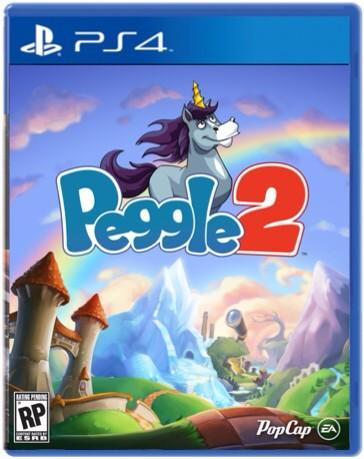 Peggle 2 Magical Masters Edition sur PS4