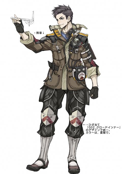 Valkyria Chronicles 4 : De nouveaux artworks des protagonistes