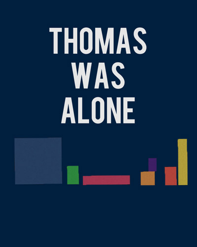 Thomas Was Alone sur ONE