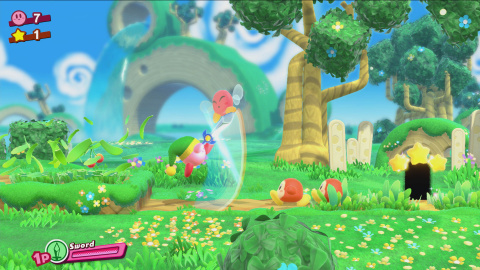 Kirby : Star Allies, le platformer coloré qui incite aux mélanges