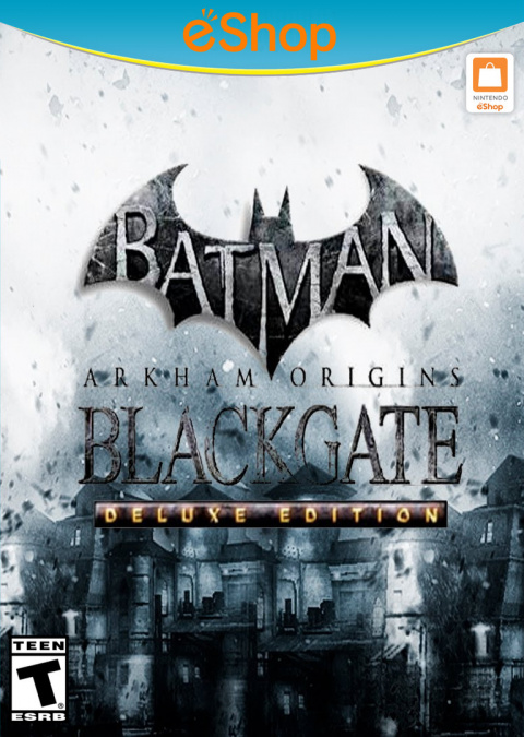 Batman Arkham Origins Blackgate - Deluxe Edition sur WiiU