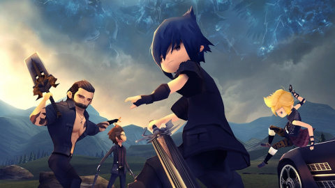 Final Fantasy XV Pocket Edition : l'introduction