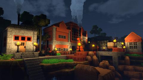 Le Minecraft-like éco-responsable : ECO