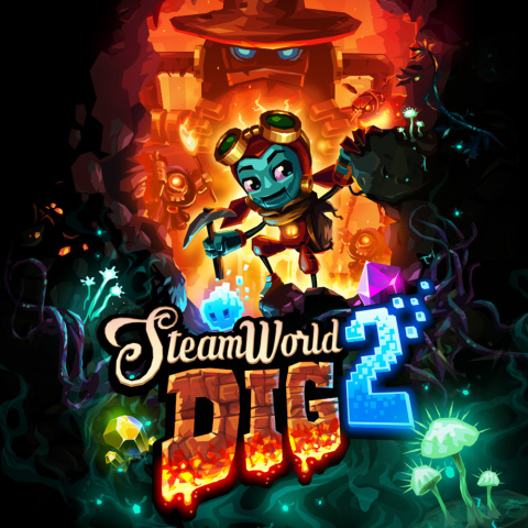 SteamWorld Dig 2 sur PS4