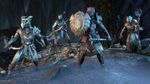 The Elder Scrolls Online : l'extension Dragon Bones se montre en images