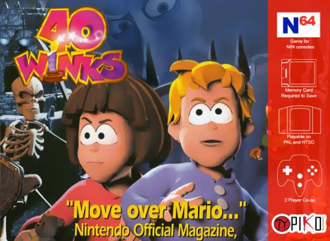 40 Winks sur N64