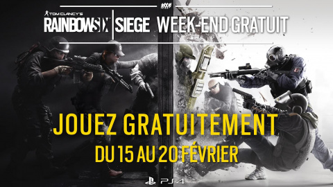 PS Store - Rainbow Six Siege:  Week-end gratuit pour le lancement de l'Advanced Edition
