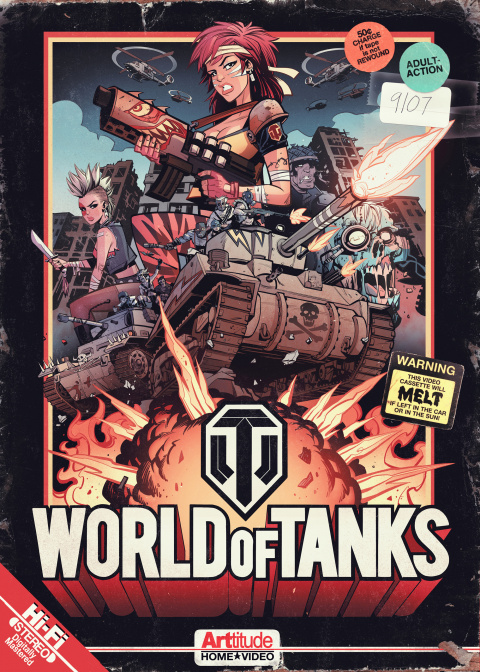 World of Tanks fête ses 4 ans avec ARTtitude en faisant gagner quatre posters exclusifs