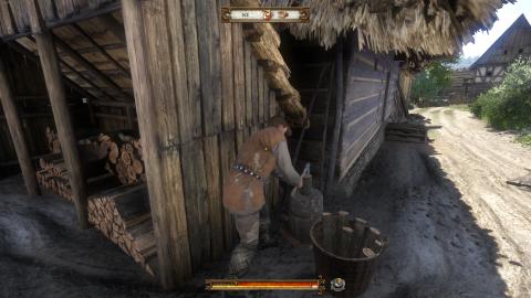 Une visite inopinée