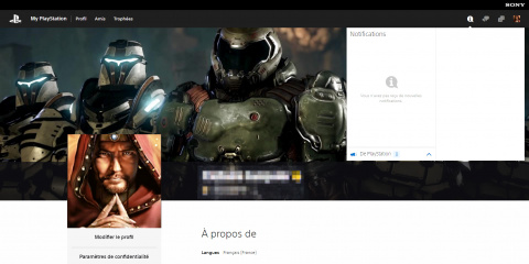 Sony Interactive Entertainment ouvre le site My PlayStation