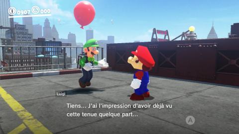 Quand Luigi réagit à la tenue de Luigi (et aux autres)