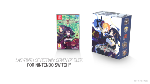 Labyrinth of Refrain : Coven of Dusk montre son édition collector