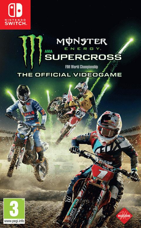 Monster Energy Supercross sur Switch