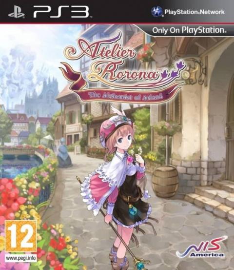 Atelier Rorona Plus : The Alchemist of Arland sur PS3