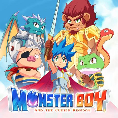 Monster Boy et le Royaume Maudit sur ONE