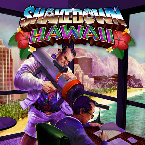 Shakedown Hawaii sur 3DS