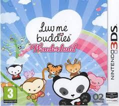Luv Me Buddies Wonderland sur 3DS
