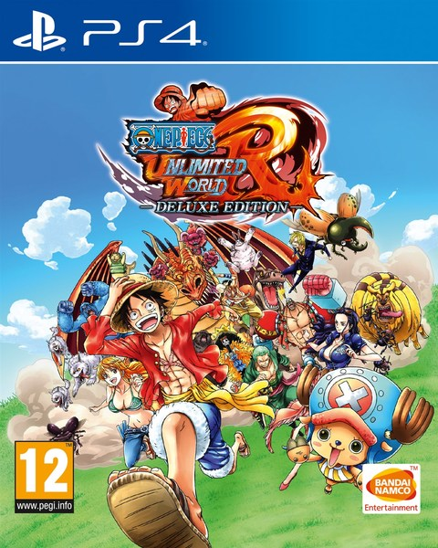 One Piece Unlimited World Red Deluxe Edition sur PS4