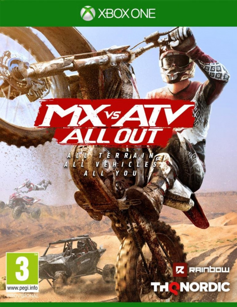 MX vs ATV All Out sur ONE