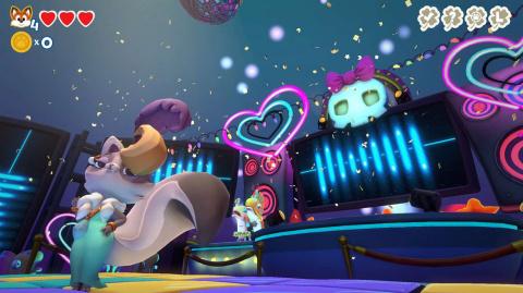 Super Lucky's Tale reçoit un DLC surprise : Gilly Island